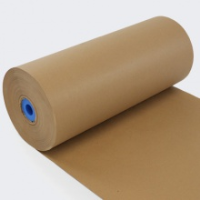 Pure Ribbed Kraft Paper On A Roll 500mm x 285m