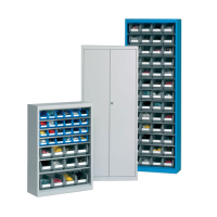 Perform container holder cabinet Installers