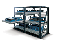 System AR Telescopic Extensions Shelve Suppliers