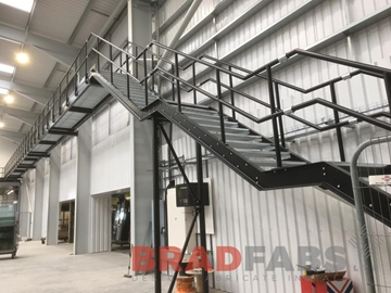 Expert In Stainless Steel Straight Staircase Design