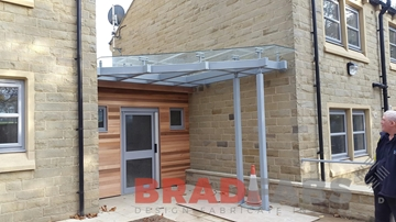 Glass Canopies For Office
