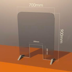 Plastic Protective Screen For Counters
