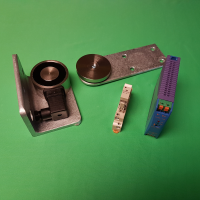VS65 Circular External Maglock Kit with Relay & Psu - LEFT HAND WITH GATE OPENING TOWARDS YOU