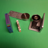 VS65 Circular External Maglock Kit with Relay & Psu - RIGHT HAND WITH GATE OPENING TOWARDS YOU