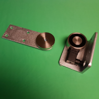 VS65 Circular External Maglock KIT - RIGHT HAND WITH GATE OPENING TOWARDS YOU