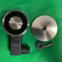 VS65 Circular External Maglock - RIGHT HAND WITH GATE OPENING TOWARDS YOU