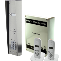 AES DECT 703-HS2 Dect Wireless 2 Way Intercom with Keypad