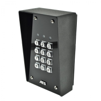 AES Stand Alone Keypad - Black Hooded Imperial