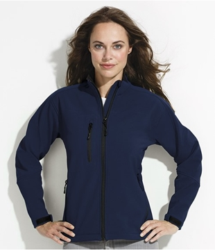 Personalised Ladies Soft Shell Jackets