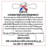 Installers Of Site Equipment For Onsite Construction Companies In County Durham