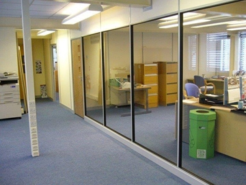 Office Partitioning Service South West England