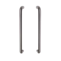 Access Hardware 19mm Diameter (225mm Centres) Tubular Back to Back Pull Handle SSS