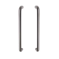 Access Hardware 19mm Diameter (400mm Centres) Tubular Back to Back Pull Handle PSS