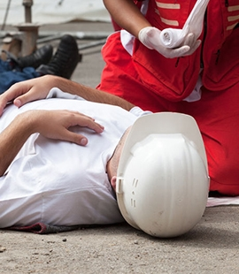 Provider of First Aid at Work Training course Durham