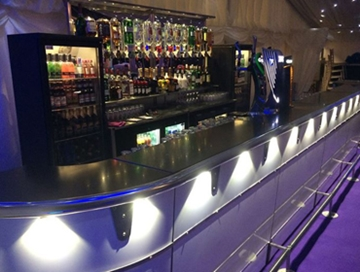 Straight Bars Hire For Events
