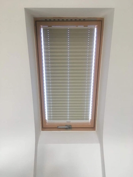 Blackout Pleated Blinds For Conservatories