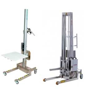 Distributors of Stainless Steel Stackers and Lifters