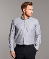 Disley Mens Oxford Shirt with Button Down Collar