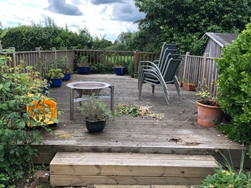 Decking Cleaning Services Ashford