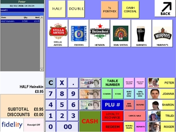 GPOS Touch Screen Software