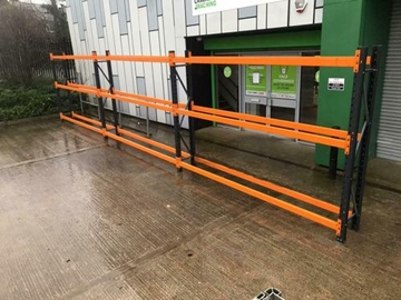 Used Tyre Bay Racking Manchester