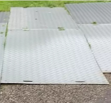 Temporary Roadway Hire Mats For Weddings