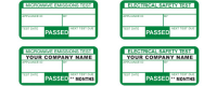 Electrical Safety Test PAT Labels In Blackpool