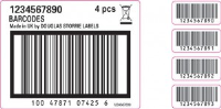 Pre-Printed Website Detail Labels In Bolton