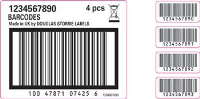 Inkjet Printed Barcode Labels In Liverpool