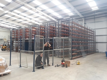Installers Of Mesh Partitioning Systems West Midlands