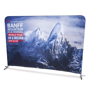 Promotional Pop-Up Stretch Banners