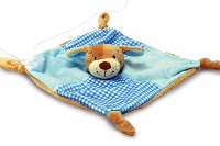 10 x Baby's 1st COMFORTER by Keel Toys - BLUE