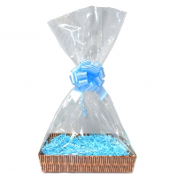 Gift Basket Accessory Kit - 21x16 - BLUE SIZE A [Basket not included]