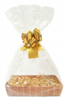 Gift Basket Accessory Kit - 36x25 - GOLD SIZE C [Basket not included]