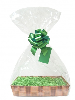 Gift Basket Accessory Kit - 21x16 - GREEN SIZE A  [Basket not included]