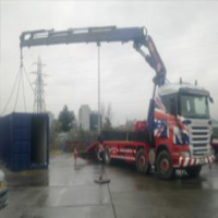 On Site Handling of Shipping Containers