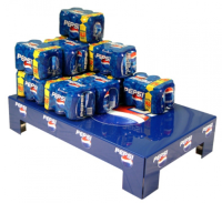 Floor Stacking Products For Supermarkets