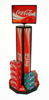 Column Can Stackers For Supermarkets