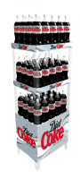 Showoff Spacesaver Display Racks For Convenience Stores