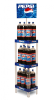 Compact Display Racks For Convenience Stores