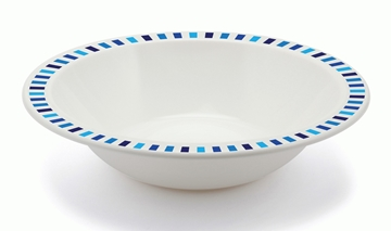 Copolyester Patterned Duo Bowl