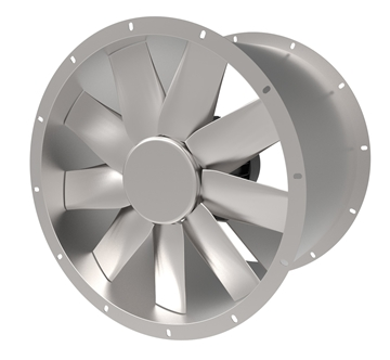 Long Cased Axial Fans
