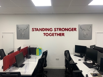 Commercial Fit Out Graphics Company