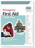 Suppliers of Emergency First Aid Book