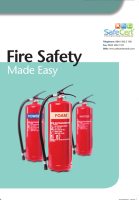 Stockists of Fire Safety Book
