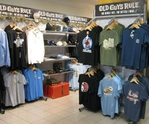 Freestanding Clothing Display Units For Exhibitions