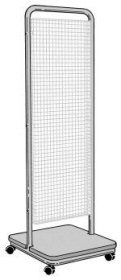 Double-Sided Mesh Accessory Stand