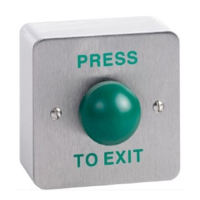 Push To Exit Button for Access Control Systems