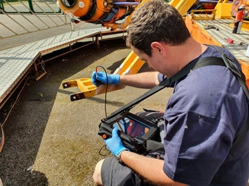 On Site Eddy Current Testing Service UK