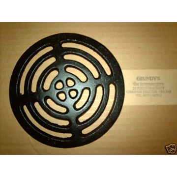 """5.5"""" ROUND Cast Iron Gully Grid Driveway Drain Cover"""